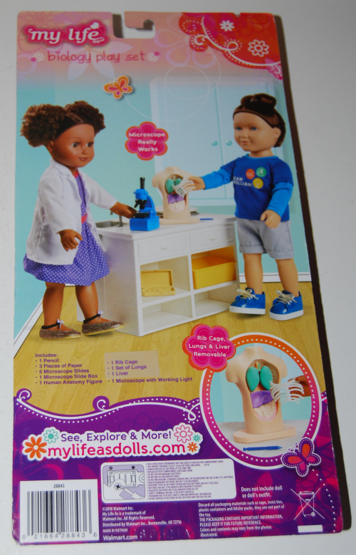 My life dolls biology play set x