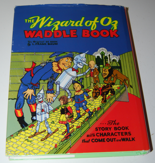 The wizard of oz waddle book x