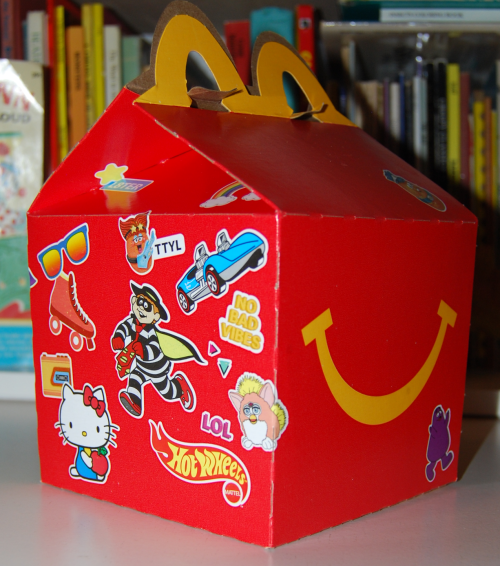 Surprise happy meal 3