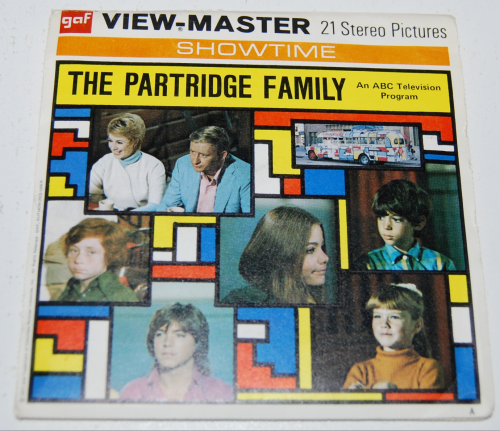 Partridge family viewmaster slides