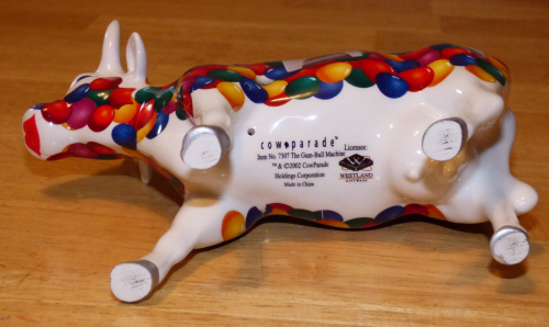 Cow parade gumball cow 2