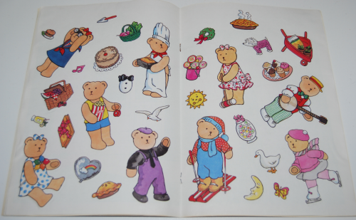 Bialosky bear sticker fun book 4