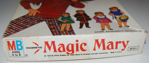 Vintage paper doll toys magic mary 1