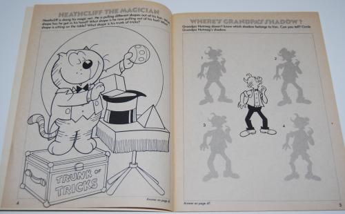 Heathcliff coloring book 3