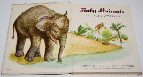 Little golden book baby animals 1952 1