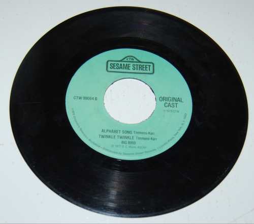 Sesame street record xx