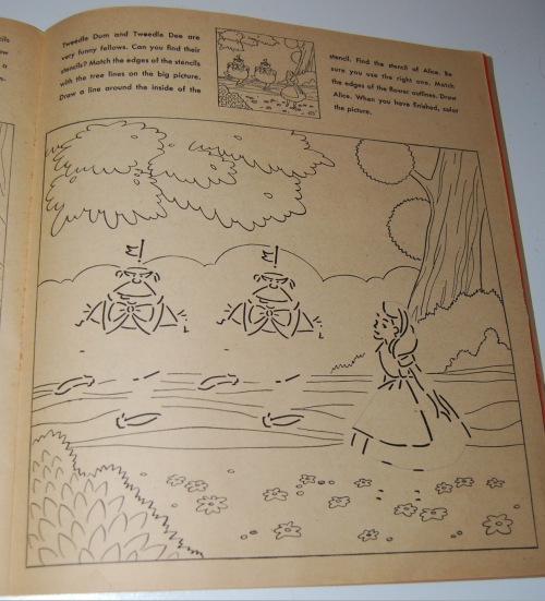Alice in wonderland sticker fun book 6