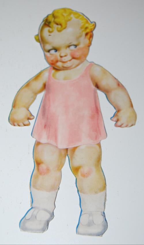 Skootles paper doll