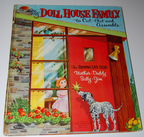 My doll house family whitman book