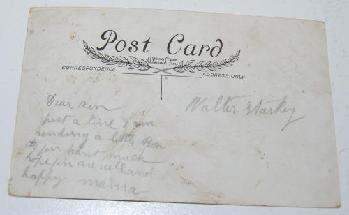 Vintage xmas postcard x