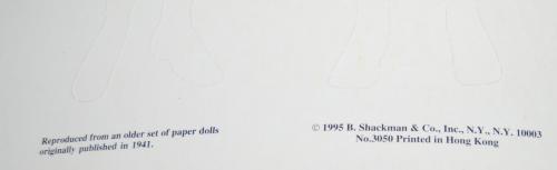 Betty & alice paperdolls 1