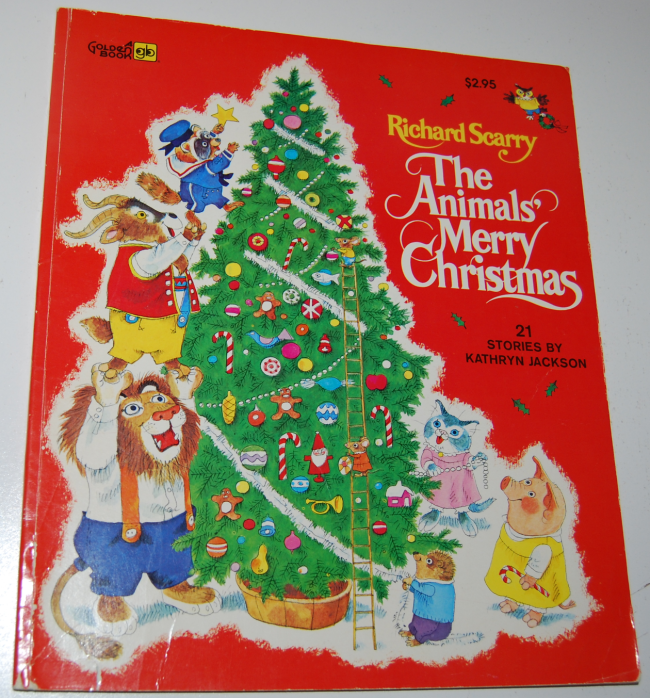 richard scarry animals merry christmas