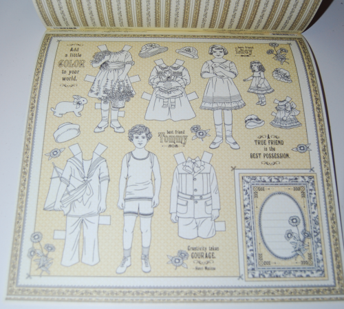 Penny's paper doll family 10