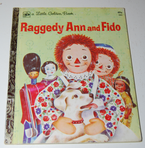 Raggedy ann & fido little golden book
