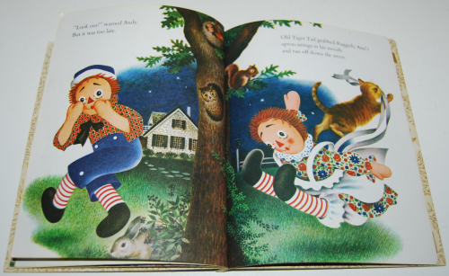 Raggedy ann & fido little golden book 7