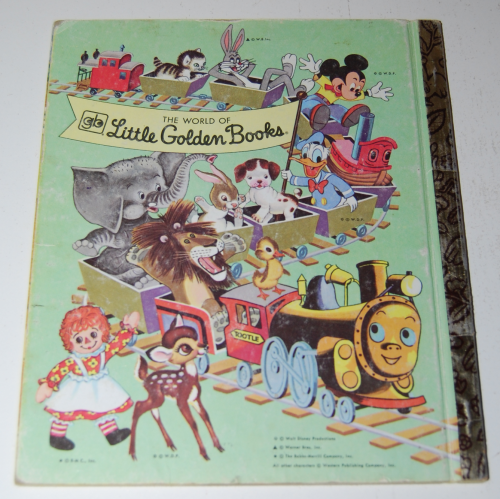 Raggedy ann & fido little golden book x