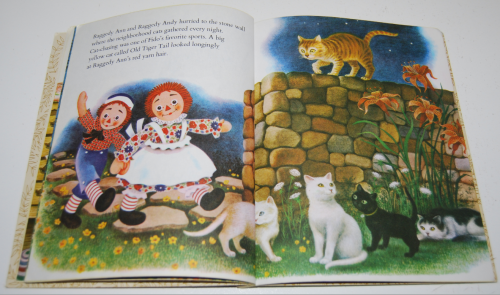Raggedy ann & fido little golden book 6