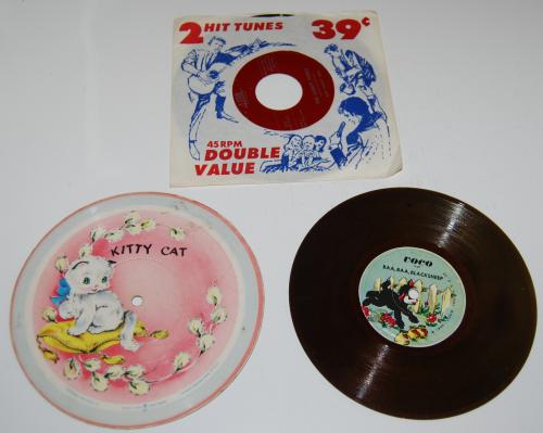 Vintage kids vinyl