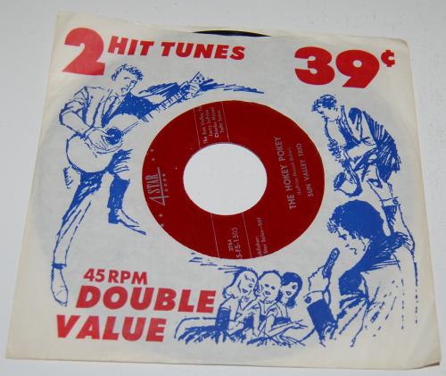 Vintage kids vinyl record