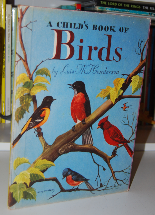 A child's book of birds