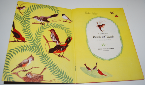 A child's book of birds 1