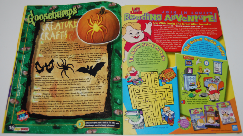 Fox kids magazine 1