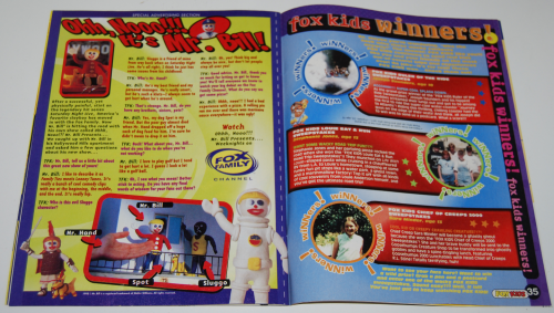 Fox kids magazine 3