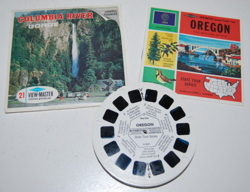 Oregon viewmaster slides