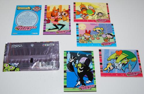Powerpuff girls cards x