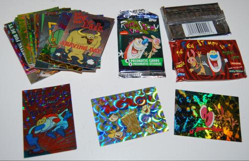 Ren & stimpy cards