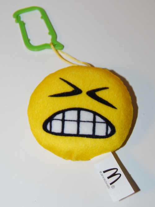 Emoji happy meal toy