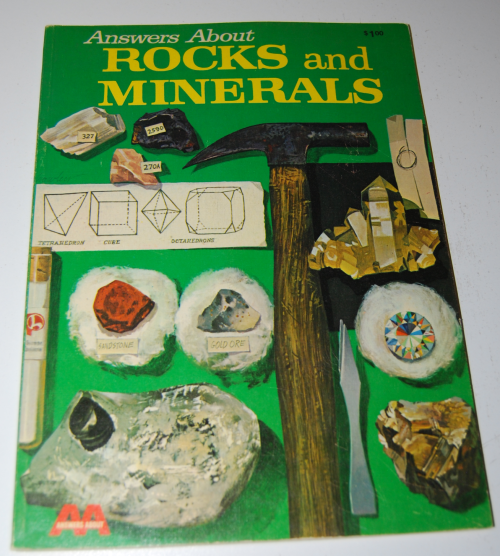 Answers about rocks & minerals woder book