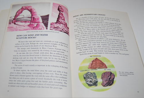 Answers about rocks & minerals wonder book 6