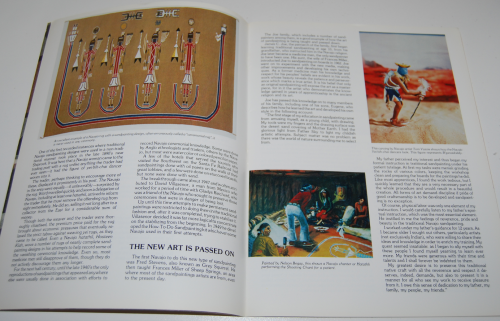 Navajo sandpainting art book 2