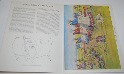 Plains indians diorama book 2