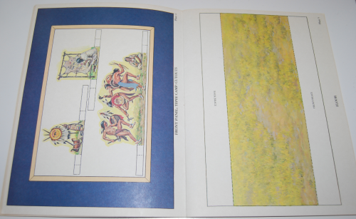 Plains indians diorama book 4