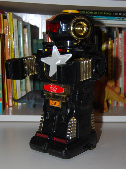 Magic mike 2 vintage robot toy 1