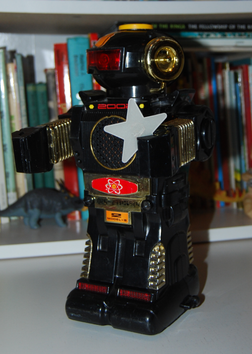 Magic mike 2 vintage robot toy 2