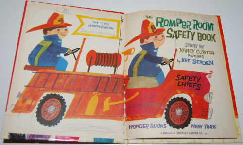 The romper room safety book 1