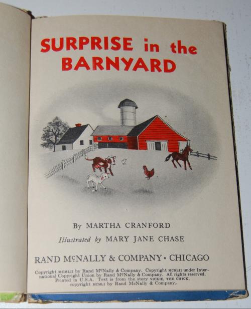 Surprise in the barnyard 2