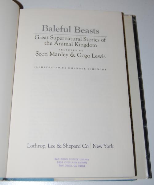 Baleful beasts 2