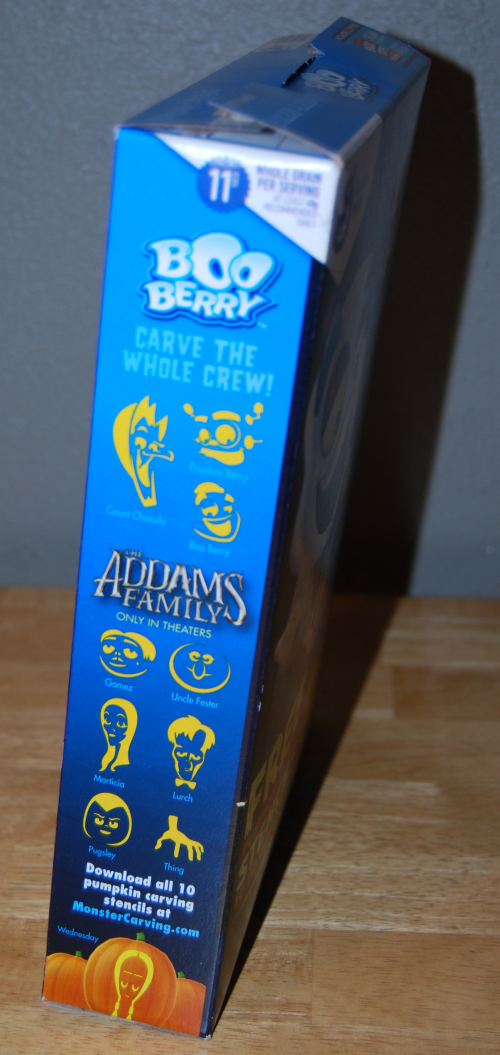 Boo berry cereal x