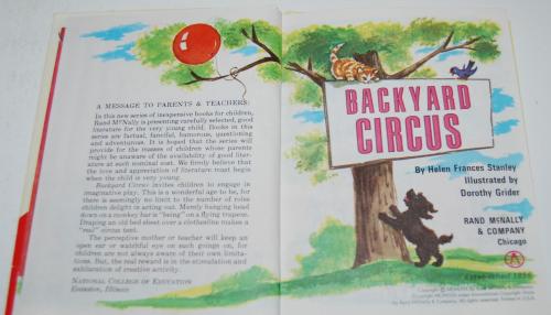 Backyard circus 2