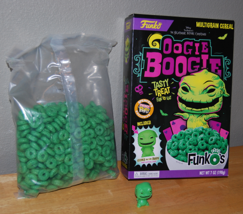 Oogie boogie cereal toy