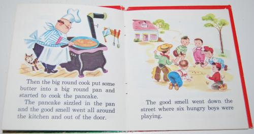 The runaway pancake 4