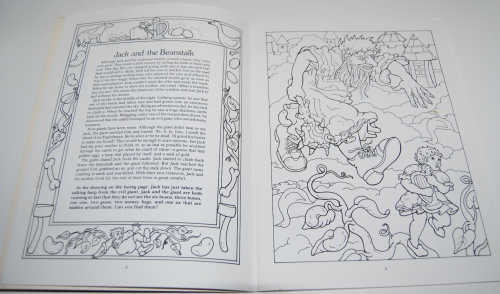 Dover fairy tale coloring book 2