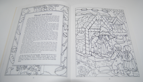 Dover fairy tale coloring book 6