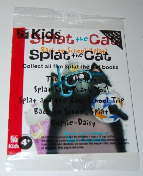 Splat the cat cfa