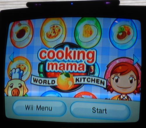 Wii cooking mama world kitchen 1