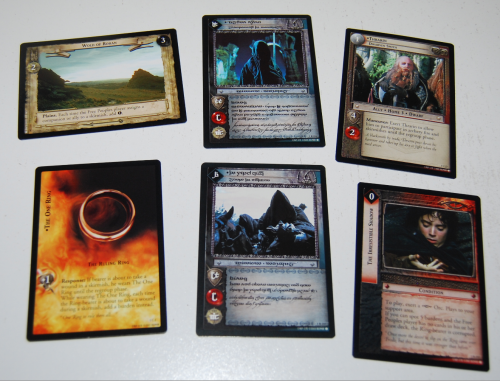 Lord of the rings anthology trading card game 7